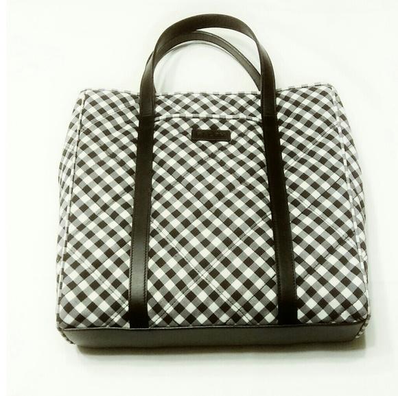 Ralph Lauren Large Gingham Checkered Bag. M 5af5a60800450fd5f20173e7 926fbba83cb36